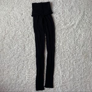 NWOT sansha Sweater tights